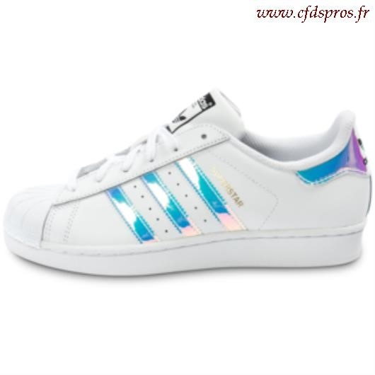 the best attitude 4ea01 b0ae1 adidas superstar femme holographique
