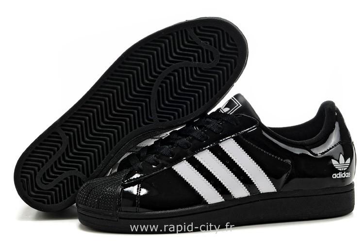 énorme réduction 274ea 008f4 Vernis 1jlfkc Noir Superstar Adidas Femme jARq54L3
