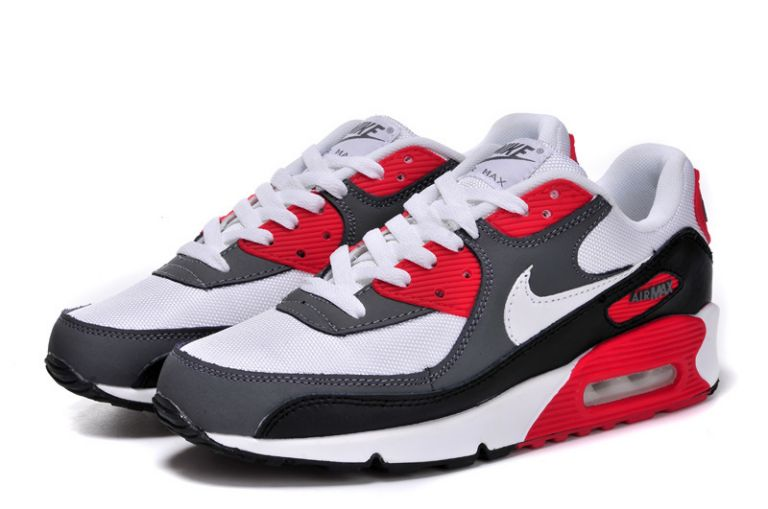 chaussures de sport 4b00d 8bd50 air max rouge blanc noir