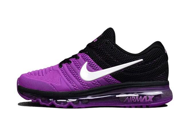 nike air max femme violette et noir